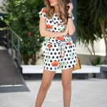 Colorful Polka Dots Summer Outfits Women Should See