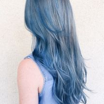 Denim Hair Color Trend To Make You Stylish In Summer 2