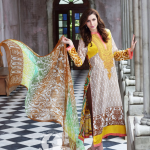 Embroidered Chiffon 3 Pcs Summer Collection 2016 3
