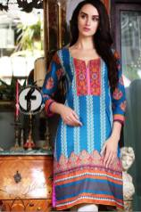 Embroidered Kurti Summer Collection By Firdous Fashion 2016 5