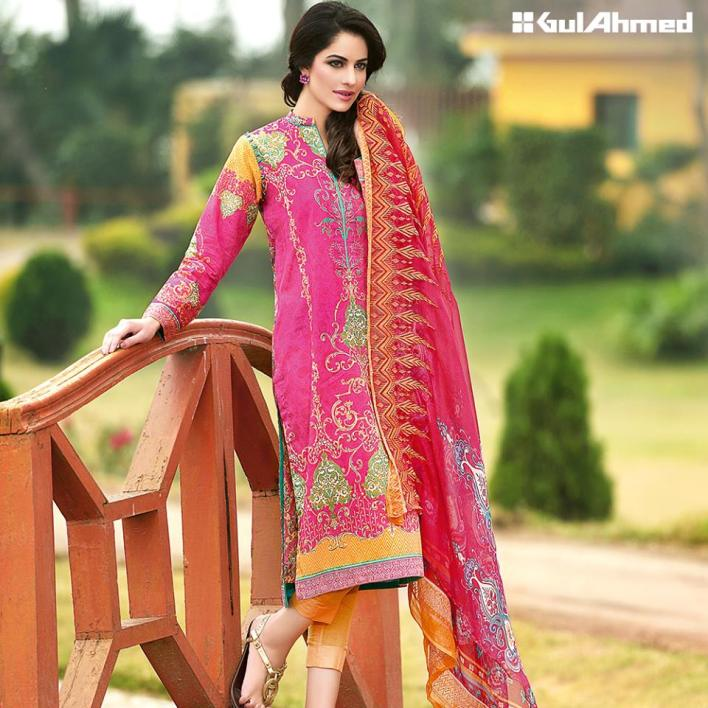 Gul Ahmed Chiffon Summer Collection