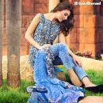 Gul Ahmed Printed Lawn Suits 3 Pcs Collection 2016 3