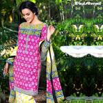 Gul Ahmed Printed Lawn Suits 3 Pcs Collection 2016 7