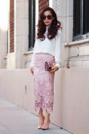 Long Pencil Skirt Summer Women Clothing Trend