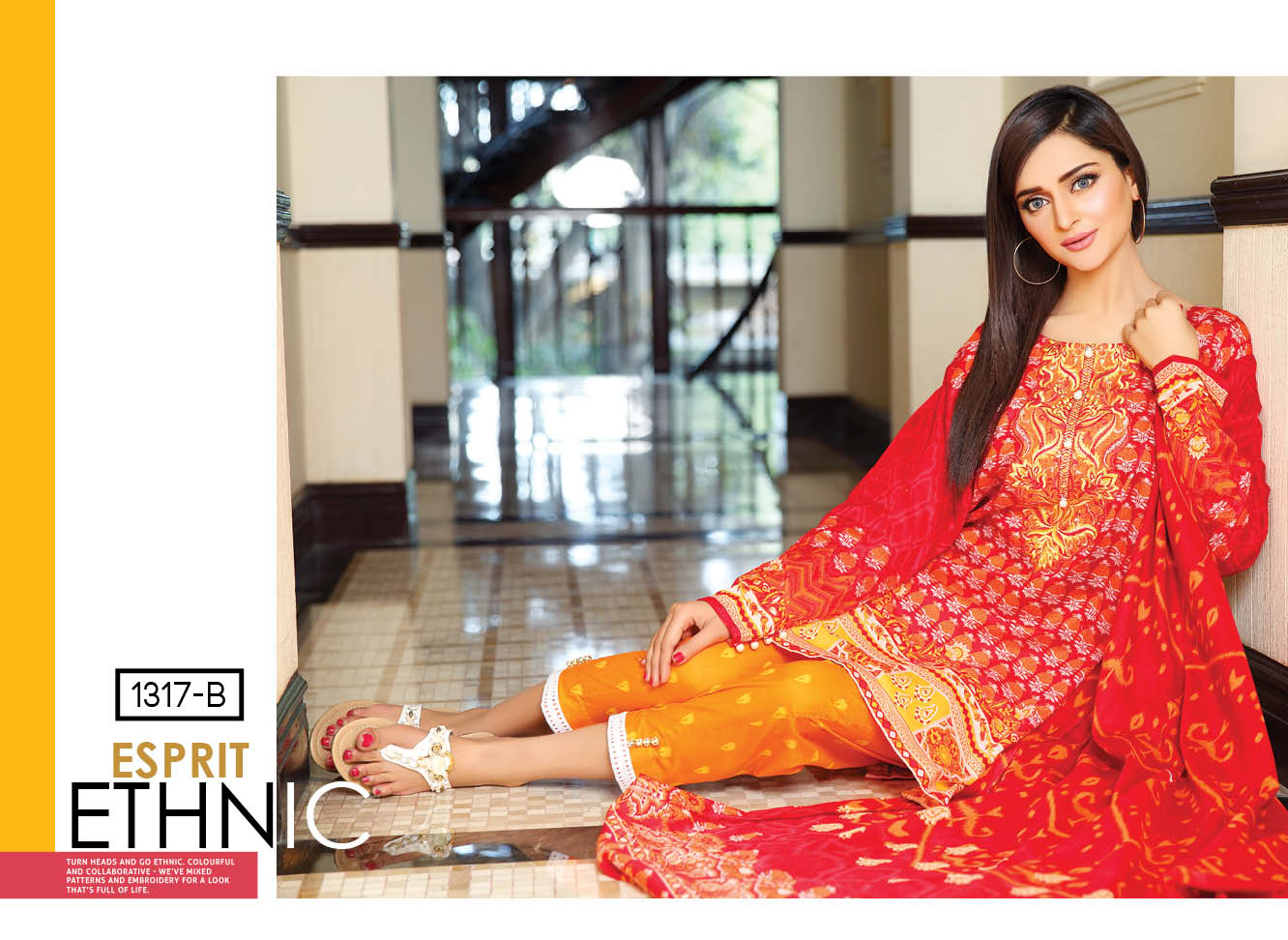 Motifz Embroidered Rangol Summer Collection