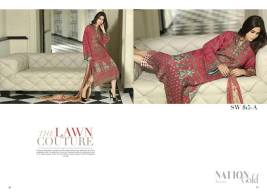 Nation Swiss Lawn Embroidered Summer Dresses 2016 12