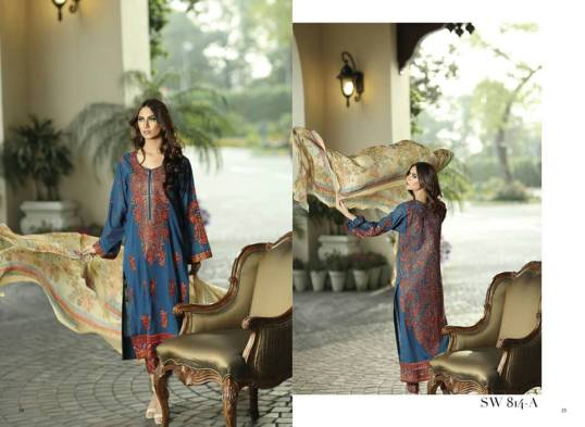 Nation Swiss Lawn Embroidered Summer Dresses 2016 13