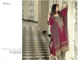 Nation Swiss Lawn Embroidered Summer Dresses 2016 2