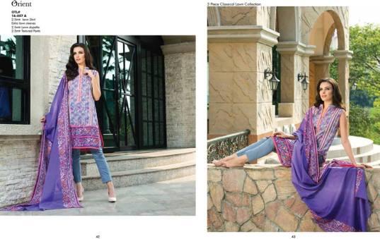 Orient Textiles Summer Lawn Collection Vol-2 2016 15
