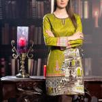 Printed Embroidered Stitched Kurtis By Threadz 2016 5