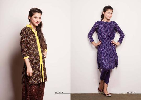 Sidra Fancy Teen Lawn Dresses Collection By Sitara 2016 9
