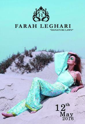 Farah Leghari Signature Lawn Dresses For Eid 2016 4
