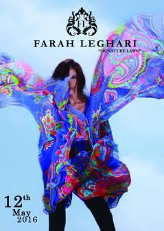 Farah Leghari Signature Lawn Dresses For Eid 2016 5