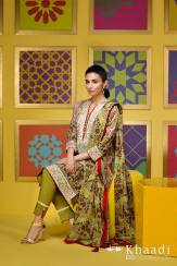Flower Garden Khaadi Eid Collection Summer 2016 6