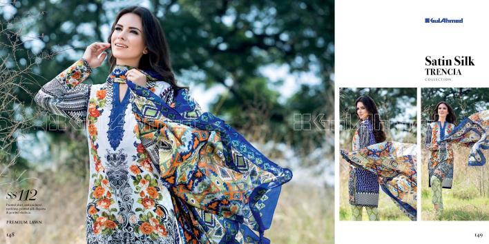 Gul Ahmed Eid Festive Dresses