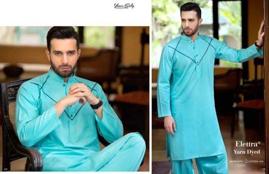 Gul Ahmed Men Eid Shalwar Kameez Collection 2016
