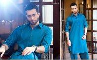 Gul Ahmed Men Eid Shalwar Kameez Collection 2016 10