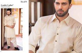 Gul Ahmed Men Eid Shalwar Kameez Collection 2016 3