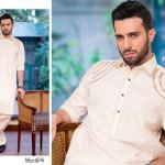 Gul Ahmed Men Eid Shalwar Kameez Collection 2016 4