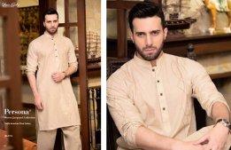 Gul Ahmed Men Eid Shalwar Kameez Collection 2016 5
