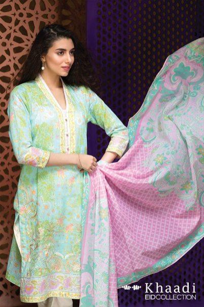 Khaadi Eid Print Blast Summer Collection