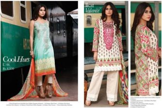 Limelight Unstitched Lawn Dresses For Summer 2016