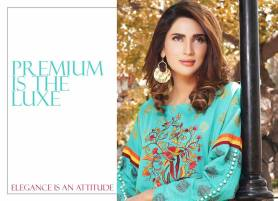 Printed Embroidered 2 Piece Lawn Collection 2016