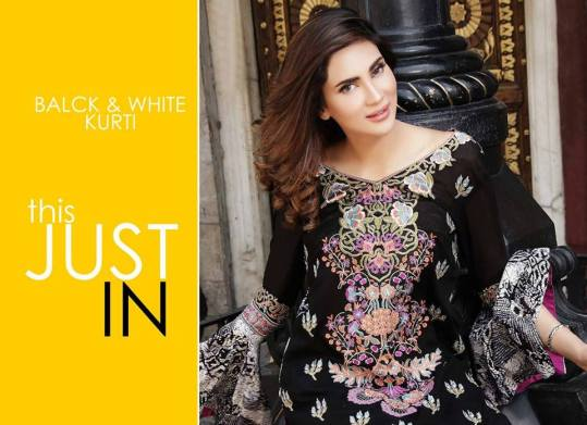 Printed Embroidered 2 Piece Lawn Collection 2016 5