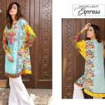Printed Embroidered 2 Piece Lawn Collection 2016 9