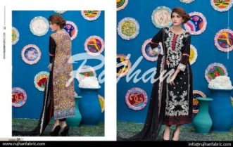 Rujhan Eid Lawn Collection Embroidered Dresses 2016 9