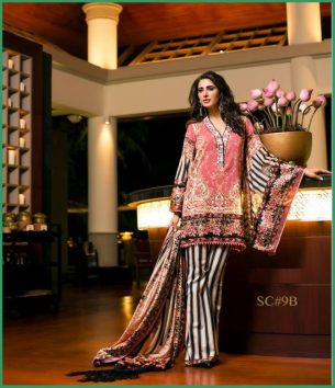 Shehla Chatoor Luxury Lawn Collection Summer 16