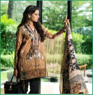 Shehla Chatoor Luxury Lawn Collection Summer 16 3