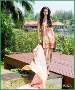 Shehla Chatoor Luxury Lawn Collection Summer 16 5