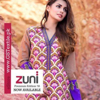Zuni Premium Summer Lawn Collection By Shabbir Textiles 2016