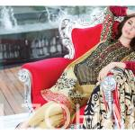 Al Zohaib Mahnoor Eid Lawn Fancy Dresses 2016 14