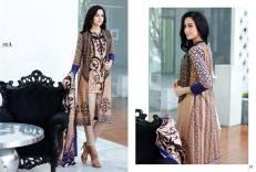 Al Zohaib Mahnoor Eid Lawn Fancy Dresses 2016 2