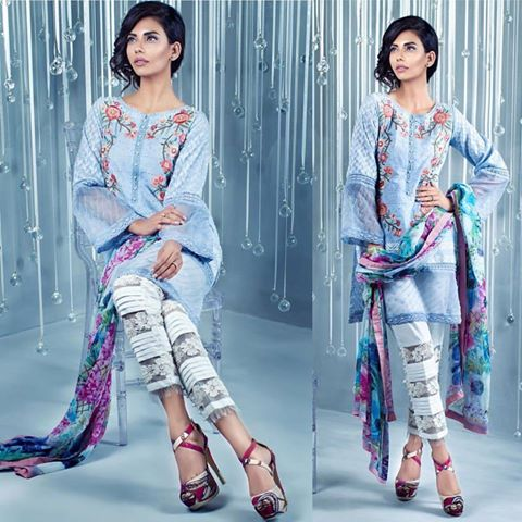 Anus Abrar Patele Romance Eid Collection Summer 2016
