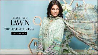 Beech Tree Fancy Eid Lawn Dresses Summer 2016
