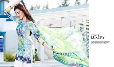 Embroidered Fancy Eid Lawn By Charizma 2016 6