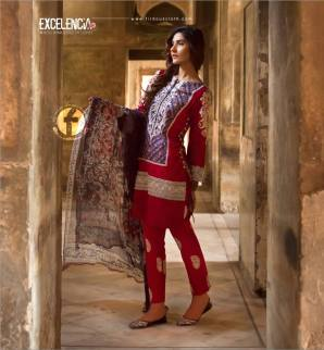 Excelencia Eid Festive Collection By Firdous Cloth Mills 2016 10