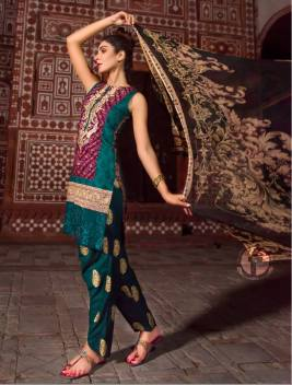Excelencia Eid Festive Collection By Firdous Cloth Mills 2016 12
