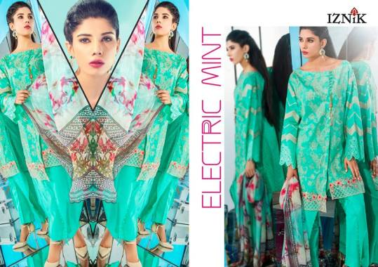 Iznik Luxury Eid Lawn Collection 2016 12