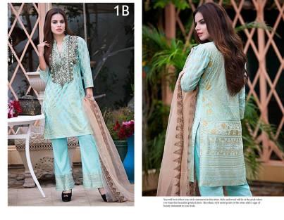 Kalyan Eid Fancy Dresses By ZS Textiles 2016 4