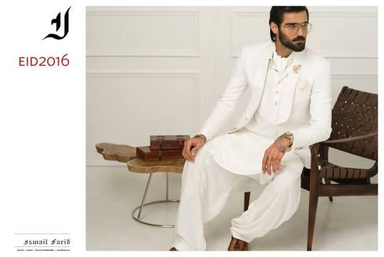 Men Eid Kurta Shalwar By Ismail Farid 2016
