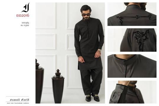 Men Eid Kurta Shalwar By Ismail Farid 2016 9