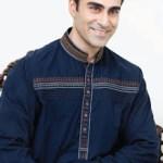 Rivaj Fabrics Men Semi Stitched Eid Collection 2016 2