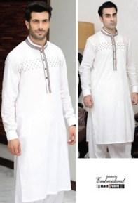 Rivaj Fabrics Men Semi Stitched Eid Collection 2016 7