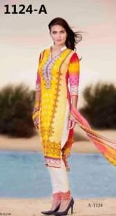 Barkha Crinkle Chiffon Summer Dresses 2016 6