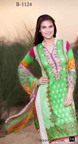 Barkha Crinkle Chiffon Summer Dresses 2016 7