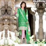 Chantilly De Lace Mid Summer Gul Ahmed Dresses 2016 2